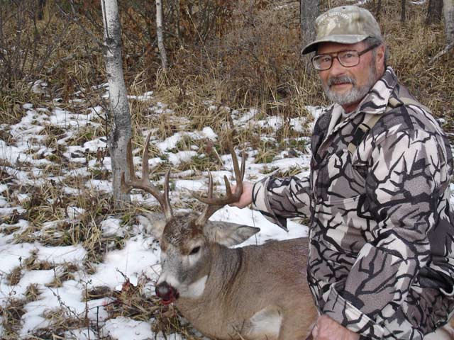 trophy whitetail hunt