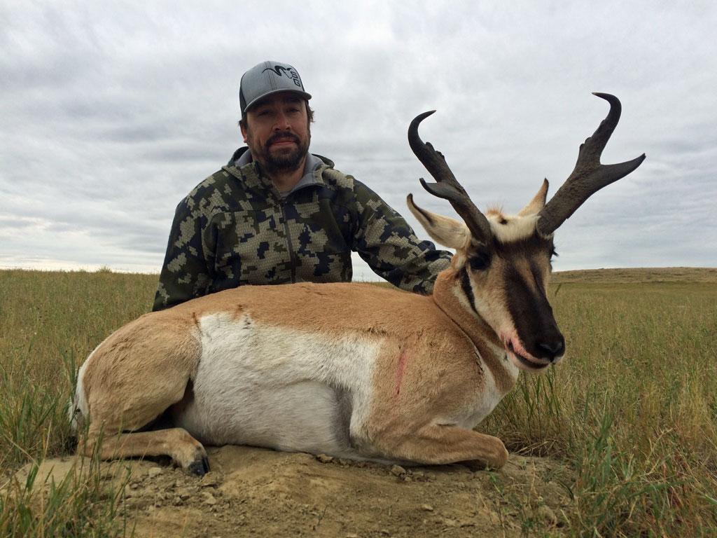 trophy pronghorn hunt